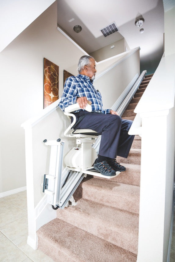 Harmar SL300 Pinnacle Stair Lift - ascending