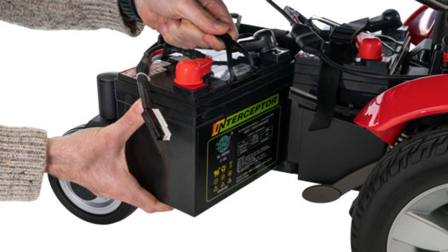 Pride® Jazzy Select® - Side Battery Access