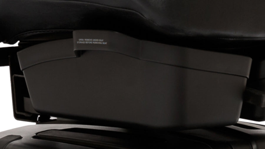 Pride® Revo™ 2.0 3-Wheel - Under Seat Storage