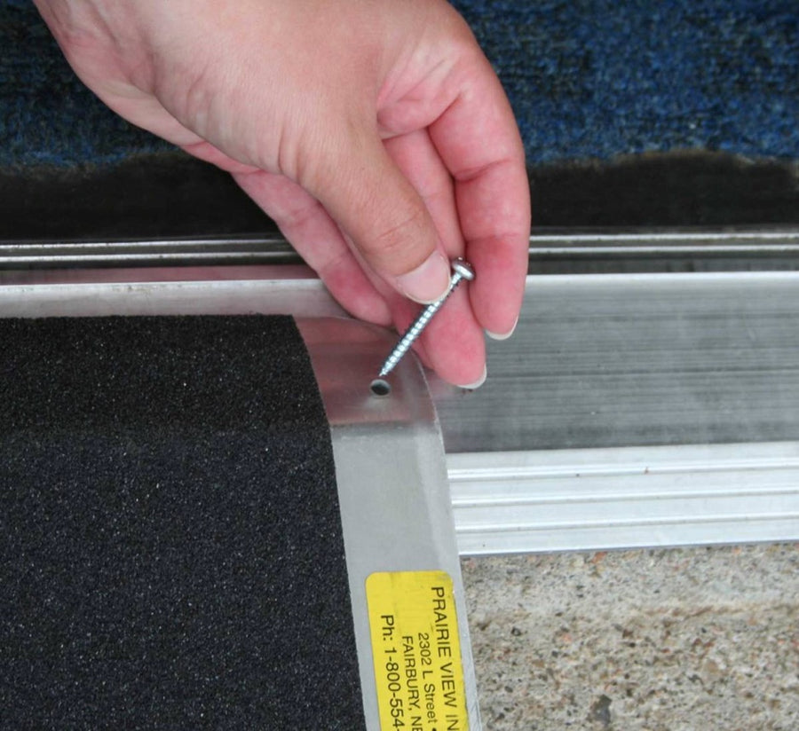 Standard Threshold Ramp - Installation