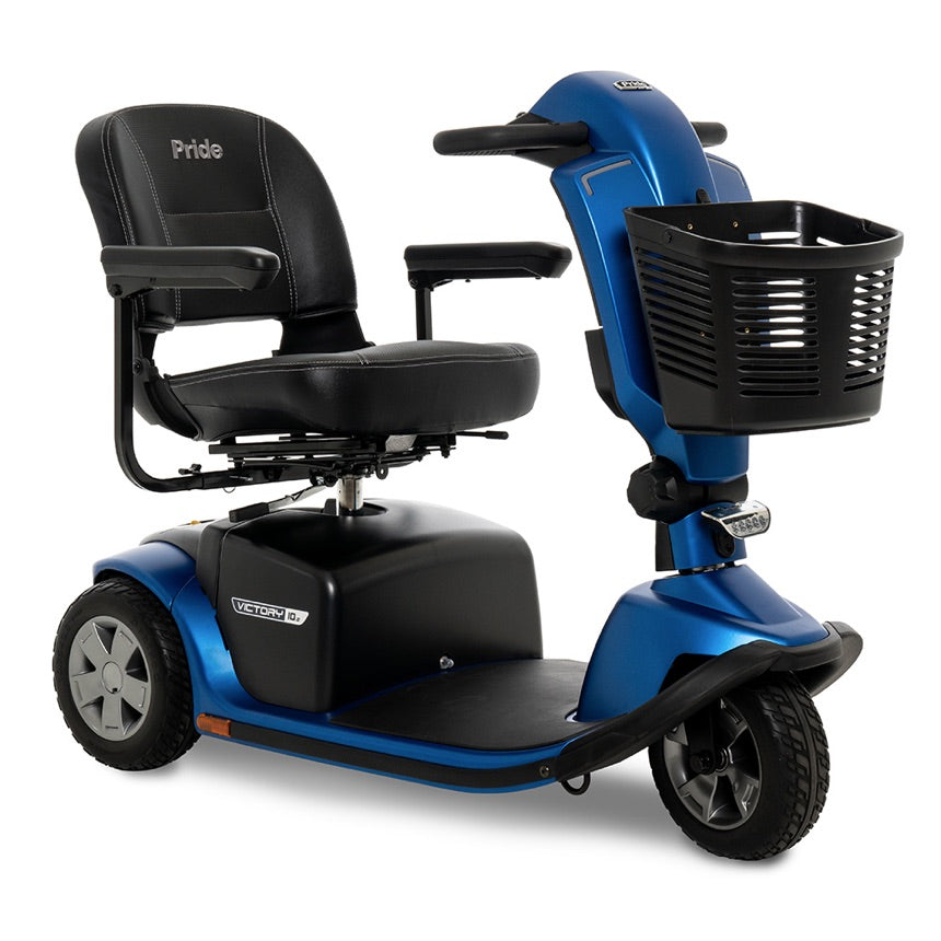 Pride® Victory® 10.2 3-Wheel - Ocean Blue