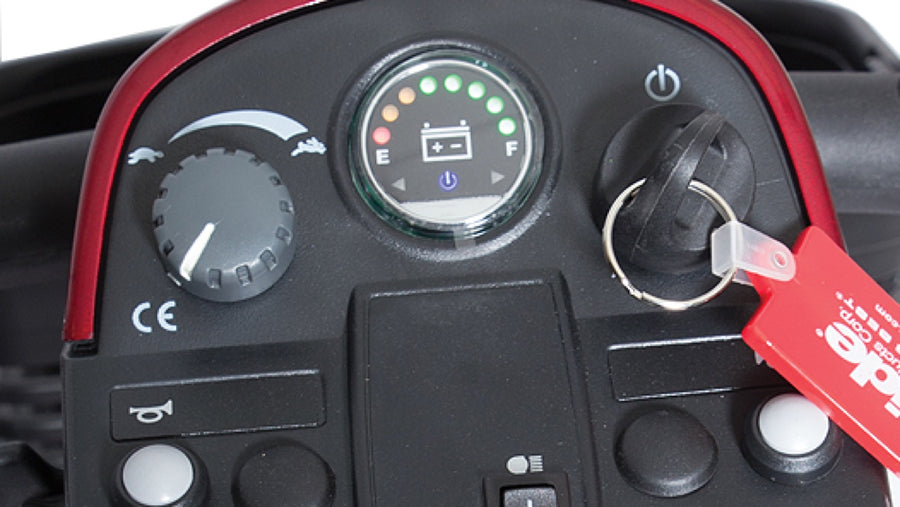 Pride® Victory® 10 4-Wheel - Battery Gauge