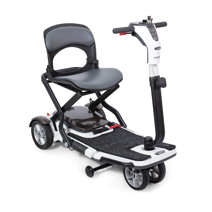 Pride® Go-Go® Folding Scooter 4-Wheel - Side View