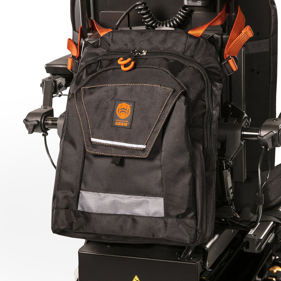 Wheelchair Aegis™ Lifetime Mobility Backpack - Front