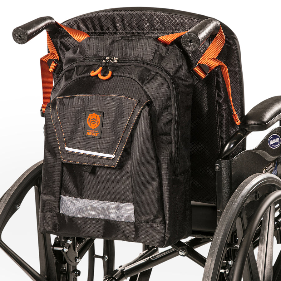 Wheelchair Aegis™ Lifetime Mobility Backpack - Side