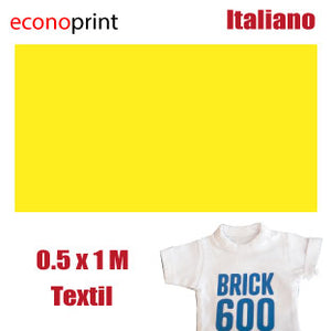 Vinil Textil Alto Relieve Amarillo