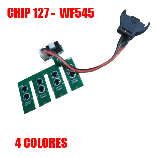 Chip 127 Version 6.0 - 4 Colores - WF545