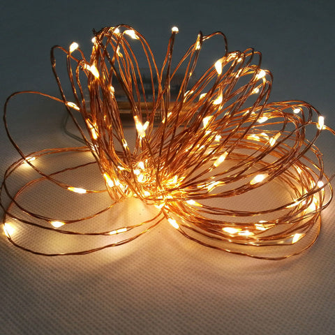 Copper String LED Fairy Lights