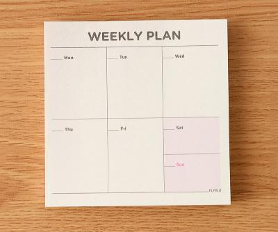 Weekly / Monthly Planner & Checklist