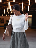 CEO Unisex Sweatshirt (White)
