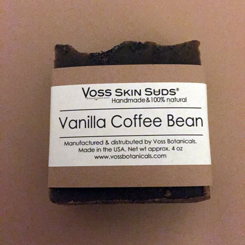Vanilla Coffee Bean Soap | Natural | Handmade Soap | Vegan | Exfoliating