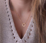 Minimalist Star & Moon Choker and Necklace