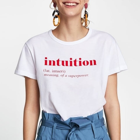 Intuition Definition T-Shirt
