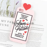 Unicorn Brew, Positive Vibes, Love Potion, and More 3D Phone Cases