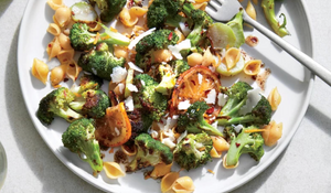 BROCCOLI LEMON BROWN BUTTER PASTA