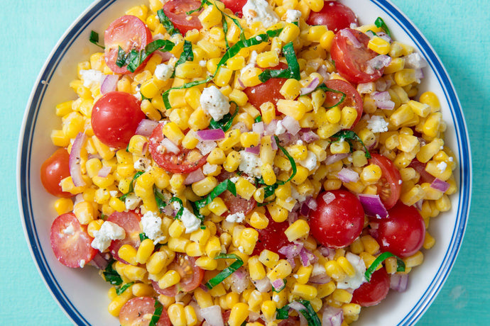 EASY SUMMER CORN SALAD