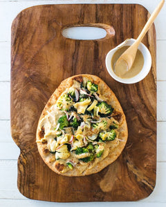 GREEN POWER NAAN PIZZA