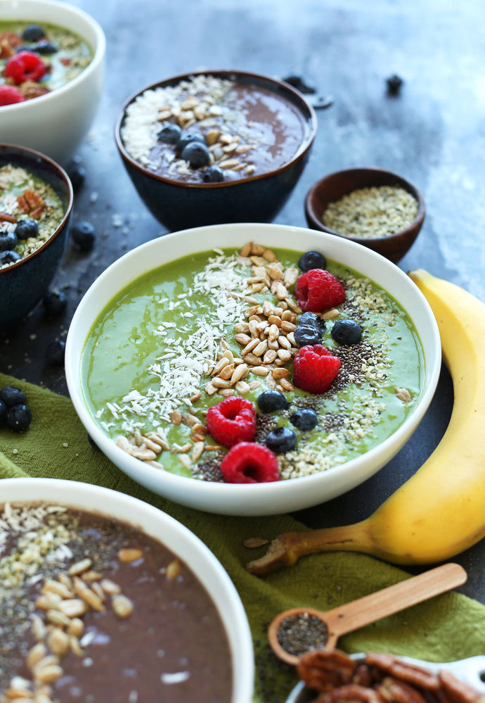 SUPER GREEN SMOOTHIE BOWL