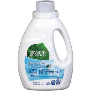 Seventh Generation Laundry Detergent Free & Clear (2.95L)