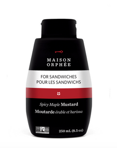 Maison Orphee Squeeze Spicy Maple Mustard 250ml