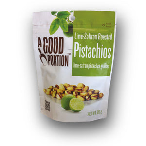 A Good Portion Lime-Saffron Roasted Pistachios 250g