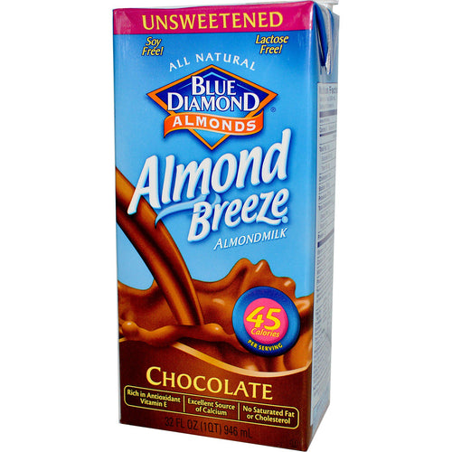 Blue Diamond Unsweetened Chocolate Almond Breeze 946ml
