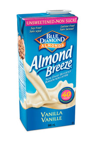Blue Diamond Unsweetened Vanilla Almond Breeze 946ml