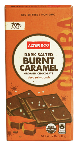Alter Eco Burnt Caramel Chocolate Bar 80g