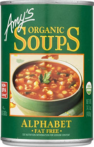 Amy's Organic Alphabet Soup 398ml