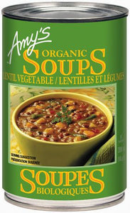 Amy's Organic Lentil Vegetable Soup 398ml