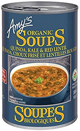 Amy's Organic Quinoa, Kale and Red Lentil Soup 398ml
