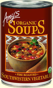 Amy's Organic Fire Roasted Southwestern Vegetable Soup 398ml