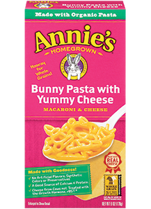 Annie's Homegrown Bunny Pasta & Cheese 170g