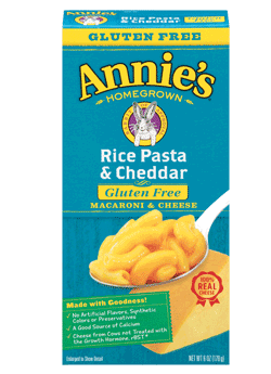 Annie's Homegrown Rice Pasta and Cheddar 170g