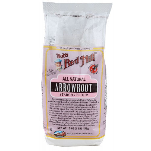 Bob's Red Mill Arrowroot Starch 454g