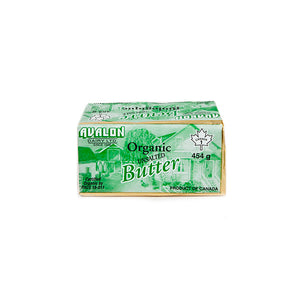 Avalon Organic Unsalted Butter (454g)