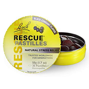 Bach Rescue Pastilles Black Currant (35/Pack)