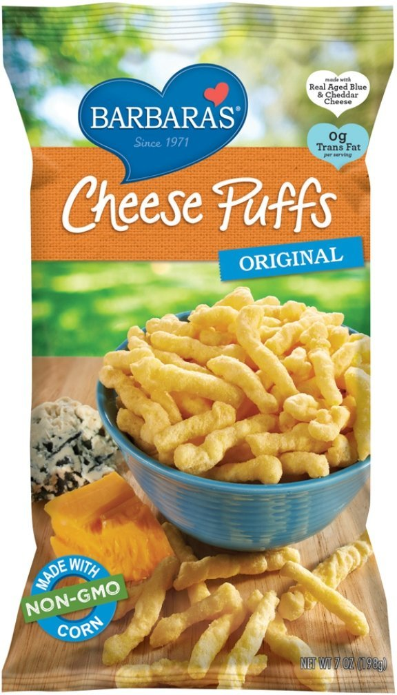 Barbara's Cheese Puffs 198g