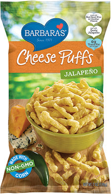 Barbara's Jalapeno Cheese Puffs 198g