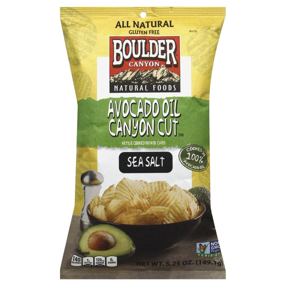 Boulder Canyon Avocado Oil Chips (128g)