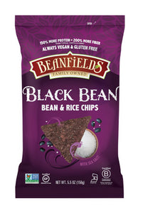 Beanfields Black Bean with Sea Salt Chips 156g