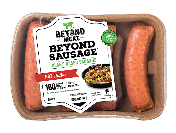 Beyond Meat Sausage Hot Italian (4/pack)