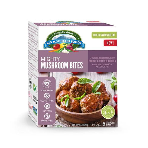 Big Mountain Foods Mushroom Bites (280g)
