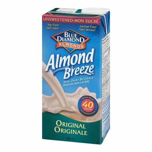 Blue Diamond Unsweetened Original Almond Breeze 946ml