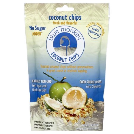 Blue Monkey Coconut Chips 40g