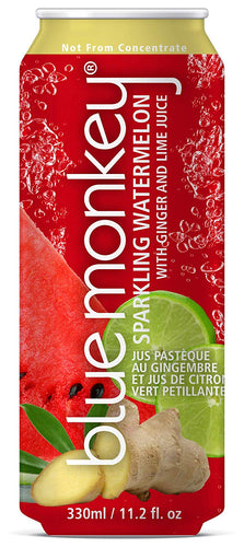 Blue Monkey Sparkling Watermelon Juice w/ Ginger & Lime (330ml)