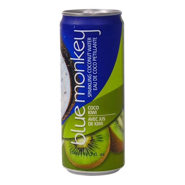 Blue Monkey Sparkling Coco Kiwi Water 330ml