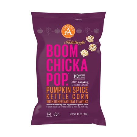 Boom Chicka Pop Pumpkin Spice Kettle Corn 128g