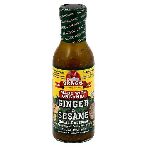 Bragg Ginger Sesame Salad Dressing 355ml