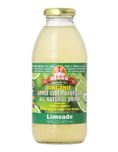 Bragg Limeade Apple Cider Vinegar Drink (473ml)